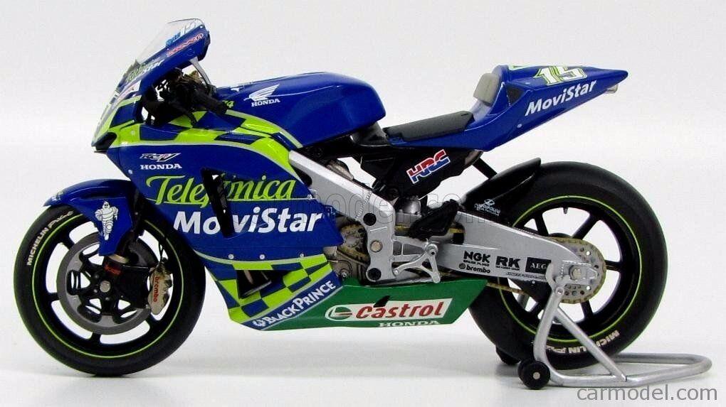 MINICHAMPS 1 12 12 12 HONDA Movistar 2004 Sete Gibernau MotoGP Bike Moto NEW and RARE 90ae90