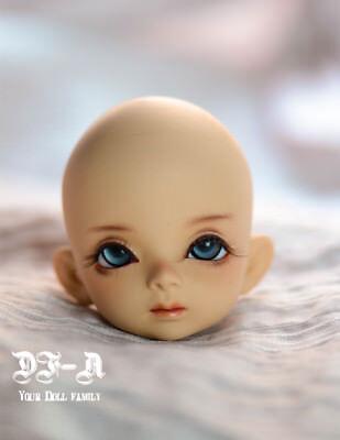 Standard Resin 1//6 SD BJD Girl Doll Single Part Heads Handmade DIY Makeup toy