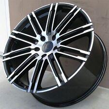 SET(4) 22X10 5X130 WHEELS FOR PORSCHE CAYENNE TURBO GTS VW TOUAREG RIMS
