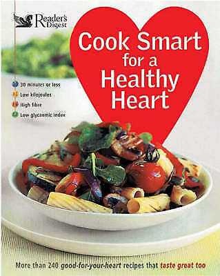 1 of 1 - Cook Smart for a Healthy Heart, , Very Good Book