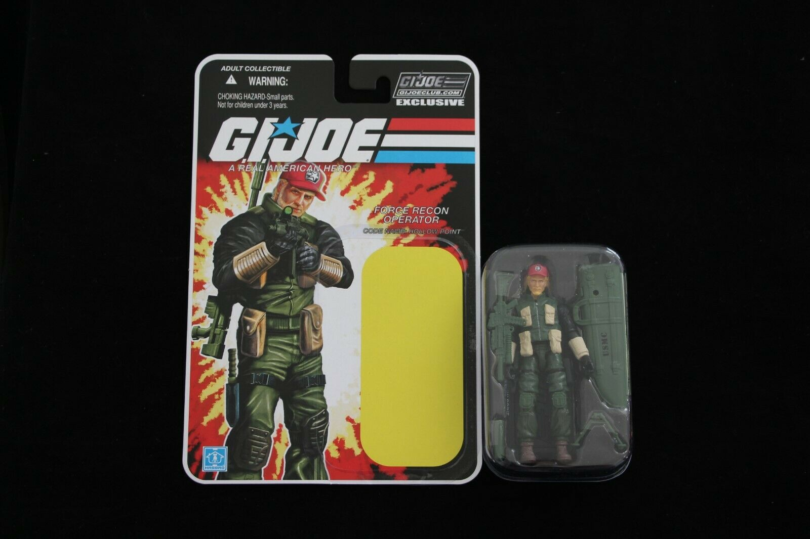GI Joe 2018 Collector's Club FSS 7.0 Hollow Point & Correct Stand New Complete