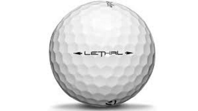 50 Taylormade Lethal Used Golf Balls AAA + Free Tee's