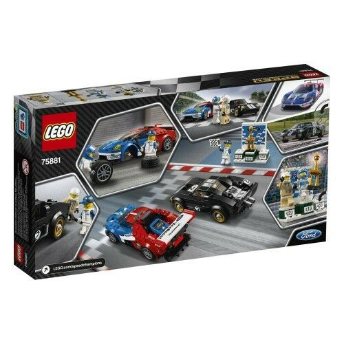 LEGO Speed Champions 75881 Ford GT 2016 u. u. u. Ford GT Neu OVP cfea3b