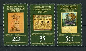 Stamps Ddr 2636/8 ** Kostbarkeiten Evident Effect Art