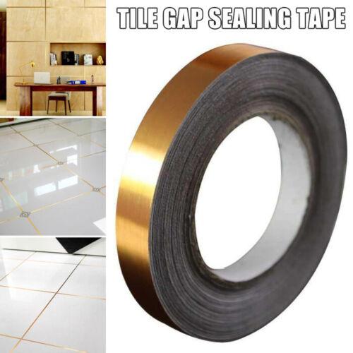 Self-adhesive Ceramic Tile Mildewproof Gap Tape Kitchen Waterproof Seam Sticker!