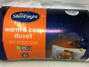 Silentnight Warm And Cosy 13.5 Tog Duvet Winter Hollowfibre Double Quilt #R191