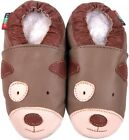 shoeszoo puppy tan 6-12m S soft sole leather baby shoes