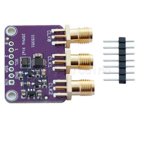 Si5351A I2C 25MHZ Clock Generator Breakout Board 8KHz to 160MHz for Arduino DE