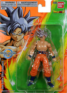 Action Figure da 12,5 cm Dragon Ball Evolve Ultra Instinct Goku