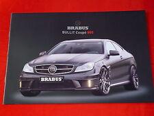 MERCEDES W204 C-Klassse BRABUS Bullit Coupe 800 Prospekt von 2012