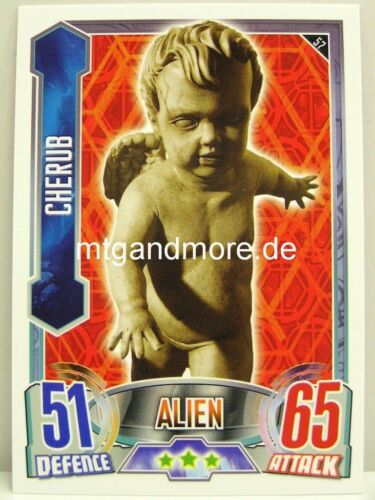 #057 Cherub-Alien Attax Doctor who