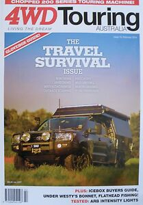 4WD-Touring-Australia-Magazine-Issue-19-February-2014-The-Travel-Survival-Issue