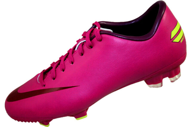 bc7a8f14bfbdb Womens Nike Mercurial Victory III FG Soccer Cleat Shoe 511447-663 Pink Volt