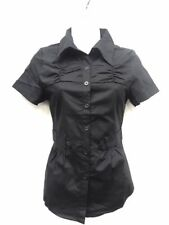 a136dab06238 item 8 Womens Tailored Short Sleeve Button-Down Shirt- premium Stretch  Pleated front -Womens Tailored Short Sleeve Button-Down Shirt- premium  Stretch ...