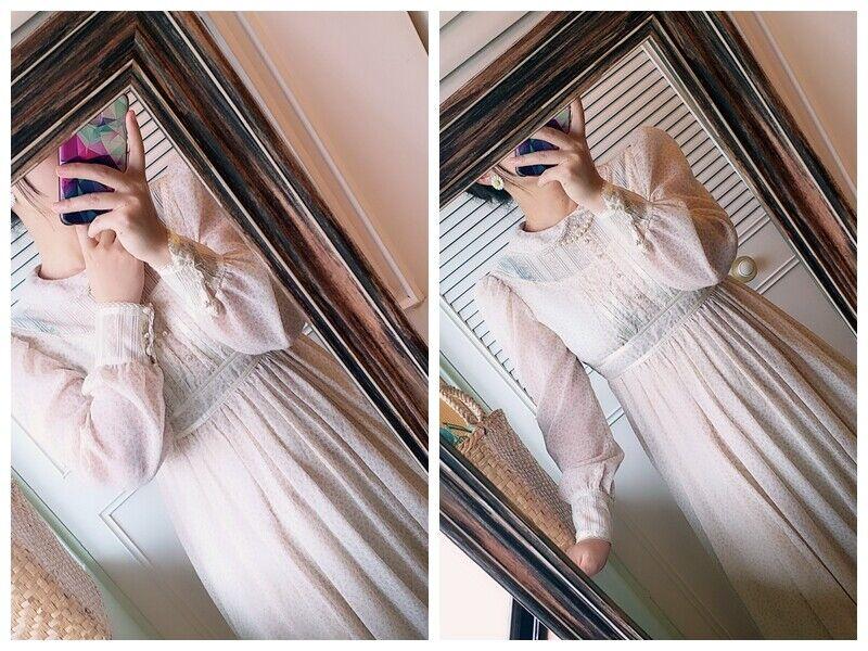 ASIS RARE vintage GUNNE SAX floral  Prairie dress… - image 7
