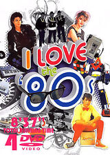 I LOVE THE 80'S VOL. 1 120 MUSIC VIDEOS 4 DVDS Pop Rock Ballads Soul Oldies 80s
