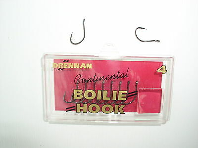 4 8 Hook 6 Bouillette-Crochets Gardner Dark Covert Continental Mugga Hooks Taille 2