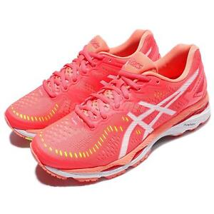 Asics-Gel-Kayano-23-D-Wide-Pink-White-Women-Running-Shoes-Sneakers-T697N-2001