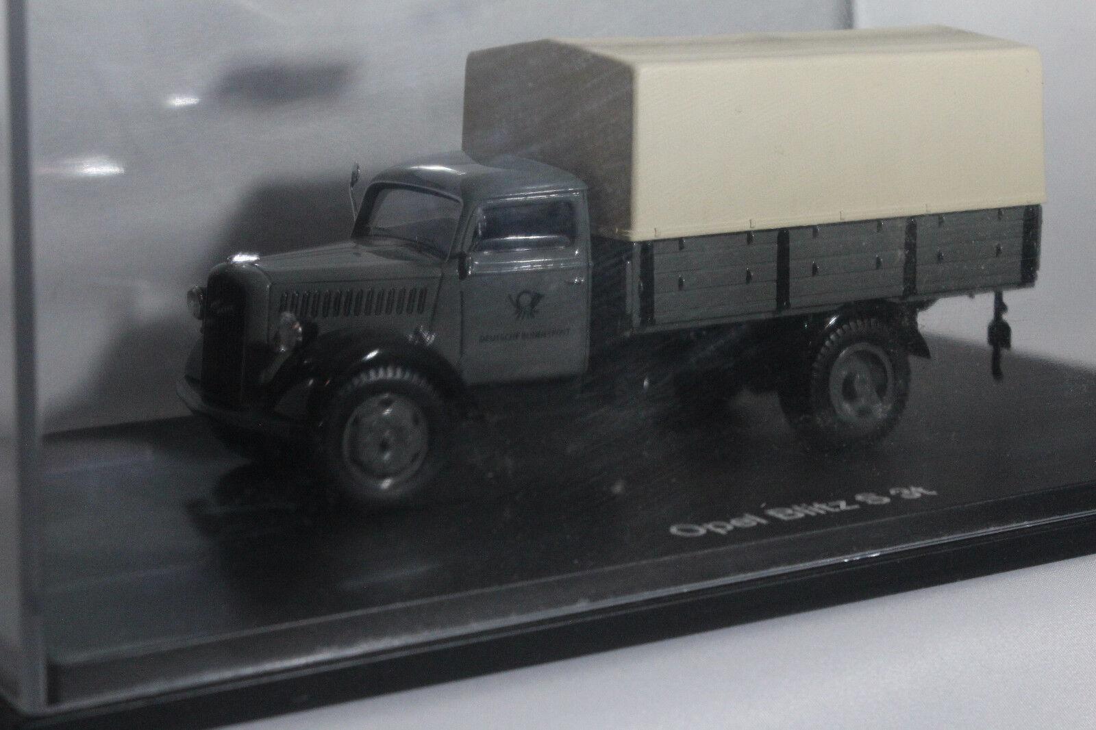 SCHUCO 88-18 Opel Blitz S 3t 3t 3t  Deutsche Bundespost  1 43  | Export  a6bfa5