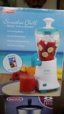 NEW SMOOTHIE CHILL MAKER juicing juiceing fruit margeritta Freee reciepe book!