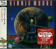 VINNIE MOORE TIME ODYSSEY 2016 JAPAN RMST SHM HIGH FIDELITY FORMAT CD