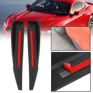 2x-Side-Skirt-Splitter-Winglet-Wing-Rocker-Diffuser-For-2015-2017-Ford-Mustang