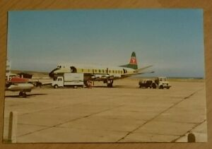Manx-Airlines-Vickers-Viscount-G-BFZL-IoM-Ronaldsway-Airport-Postcard