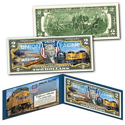 WOODROW WILSON President 1913-1921 Colorized $2 Bill US Genuine Legal Tender