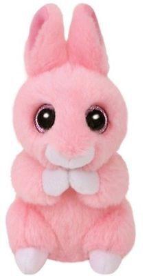 Ty Glubschi's Beanie Boo's Coniglio @ Jasper @ Rosa, Per Pasqua 10 Cm Nuovo 2018-