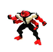 """Cartoon Network Ben 10 Large 12"""" FOUR ARMS 4 figure, used, V.RARE!"""