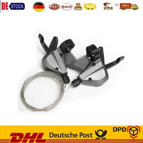 Fahrrad Schalthebel Set Shimano Altus M370 Für 3 X 9-fach 27 Gang Schaltung
