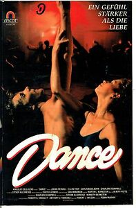VHS-Dance-Johan-Rennvall-Ellen-Troy-Carlton-Wilborn-Tanzfilme-der-80er