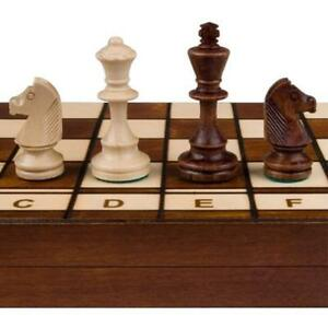 Jowisz Decorative Folding Chess Set With 16in Board