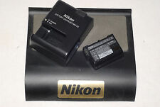 Genuine Nikon DSLR D7000 D7100 D7200 Charger+Battery MH-25/EN-EL15 UK EURO Plug