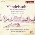 Sinfonien Vol.2-Mendelssohn in Birmingham von City of Birmingham SO,Gardner (2014)