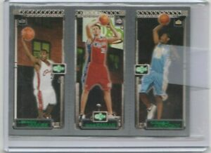 2003-04-topps-matrix-lebron-james-carmelo-anthony-kaman-triple-rookie-card-hot