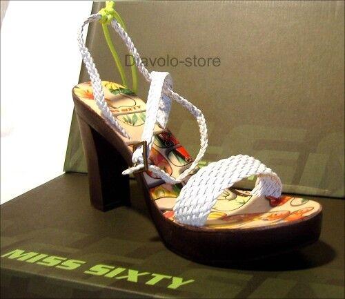 Escarpins Miss Neuf En Sixty Cuir Sandales Chaussures wYAqPrtY