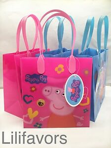 Image Is Loading 24 Pcs Peppa Pig Goo Bags Birthday Gift