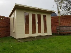 home office in the garden. Image Is Loading Garden-room-Summerhouse-Home-Office-double-glazed-12x6- Home Office In The Garden