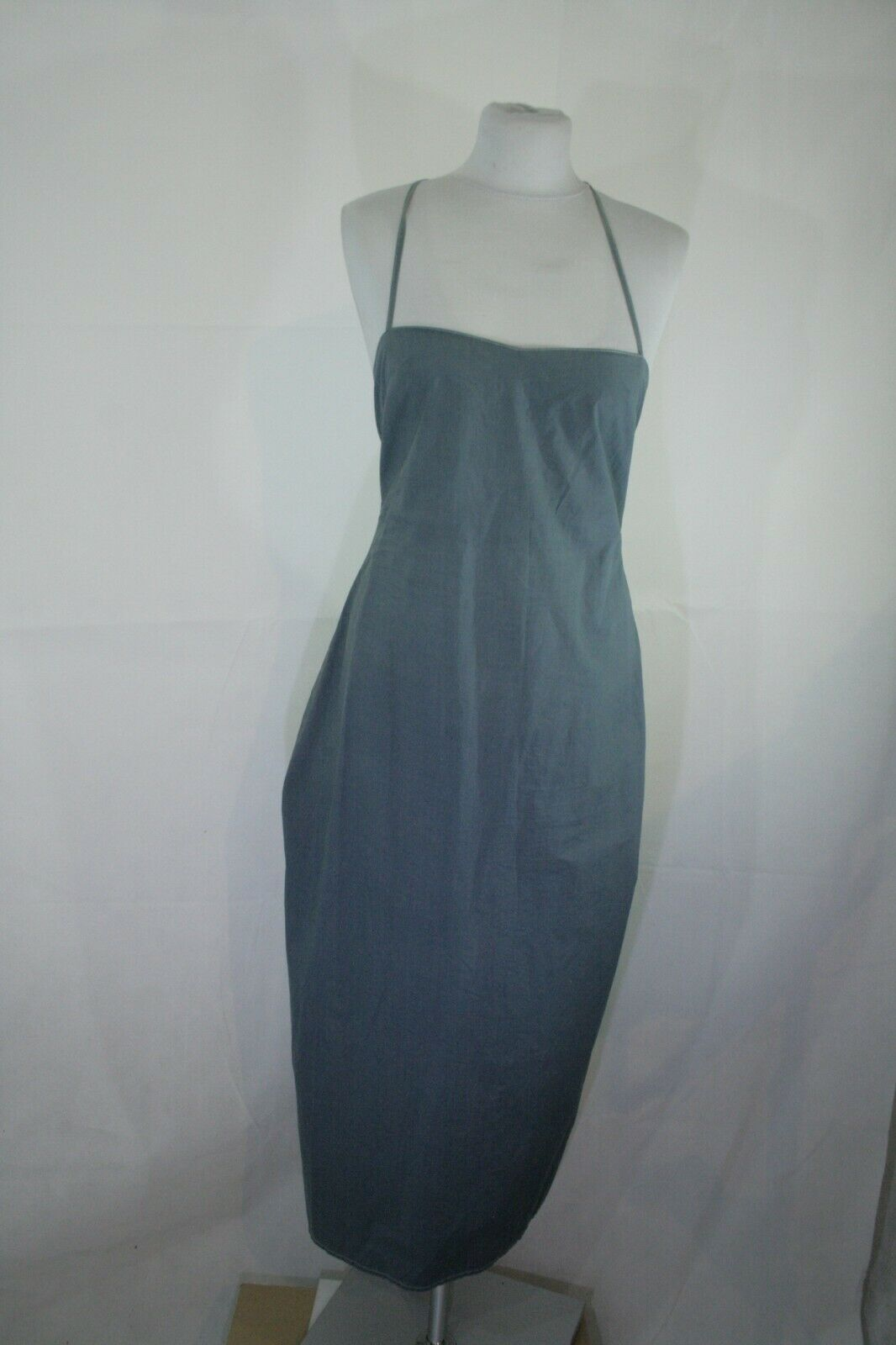 Tolles Dries van Noten Kleid in Jenasfarbe, Gr. 40 326 09 Bitte messen