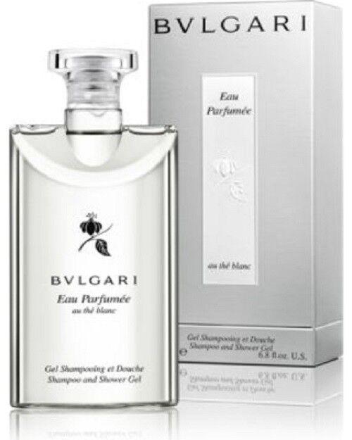 BVLGARI Eau Parfumee AU The Blanc Shampoo   Shower GEL   eBay 35368a769a8