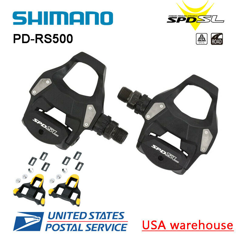 nuovo Shiuomoo PDRS500 SPDSL strada bicicletta ciclismo Pedals SMSH11 Cleat Upgraded R540