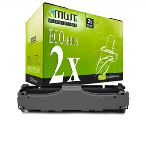 2x Eco Toner Nero Per Canon i-Sensys MF-729-Cdw MF-8540-cdn MF-8580-cdw