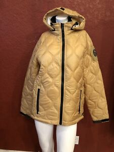 Zip S Hooded Size Coldsmoke Gold Up Women's Jacket 5qx810