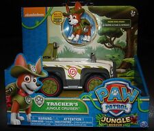 NIP brand new  PAW PATROL TRACKER  JUNGLE RESCUE TRACKER'S CRUISER