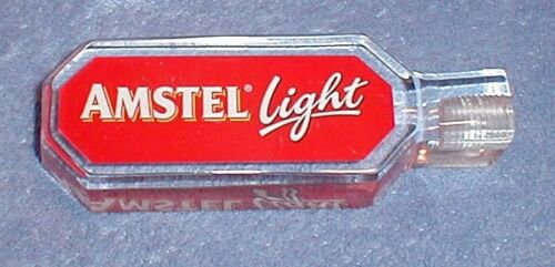 AMSTEL LIGHT beer tap RED handle ***NEW***