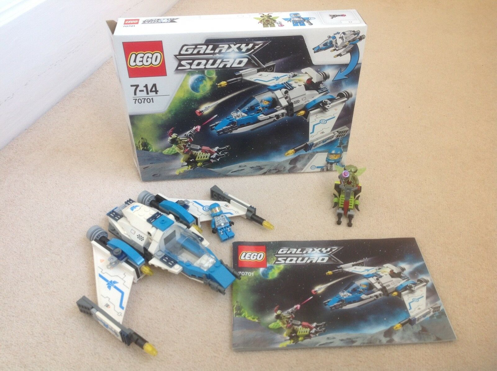 Lego Galaxy Squad (70701) Swarm Interceptor, boxed with intructions. Rare