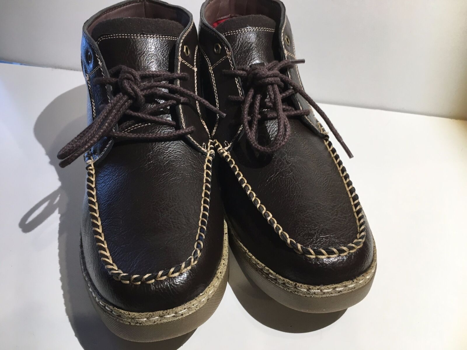 Stacy adams (1289) uomini trickster ohukka boot (1289) adams dimensioni 11.5m brown 517481
