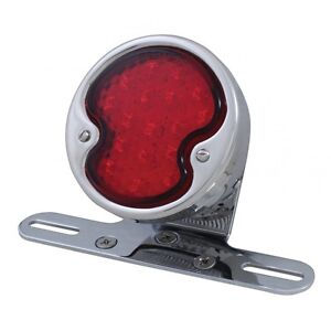 """LED """"DUO Lamp"""" Tail Light Single Lens for Custom Vintage Motorcycle Tail Lamp"""