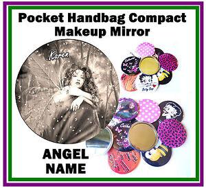 Angel-QUALSIASI-NOME-Divertente-BORSETTA-TASCABILE-make-up